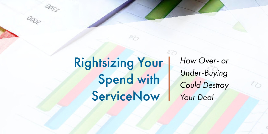 White paper - Rightsizing Your Spend with ServiceNow